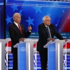 Democratic candidates spar over race, economy and foreign policy in latest debate