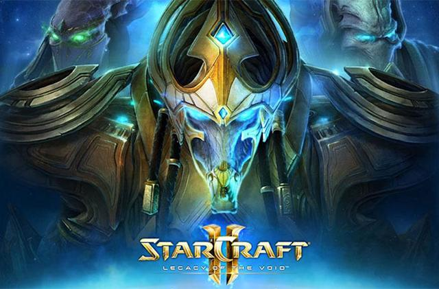 The second 'StarCraft II' expansion arrives November 10th
