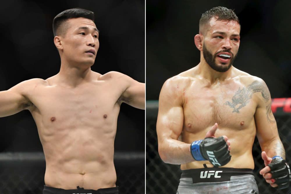 The Korean Zombie' vs. Dan Ige set for UFC Fight Night main event June 19