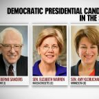 Democratic candidates head to Iowa to campaign before resumption of impeachment trial Monday