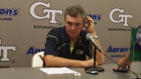 Paul Johnson post UVA game 9/15/12