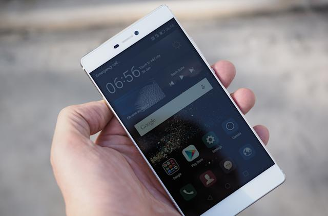 Huawei's flagship P8 smartphone is all about the fancy camera