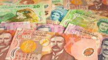 The New Zealand dollar rolls over on Thursday