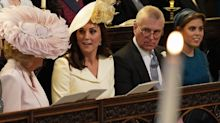 The Duchess Of Cambridge's Royal Wedding Outfit Is Classic And Chic