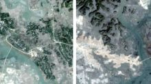 Satellite photos reveal Myanmar government bulldozing Rohingya villages