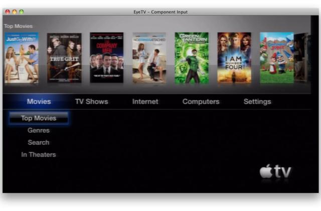 Create quality iPad 2 product demos with Apple TV and EyeTV
