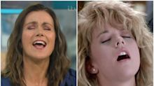 Good Morning Britain: Susanna Reid acts out famous 'orgasm' scene from When Harry Met Sally