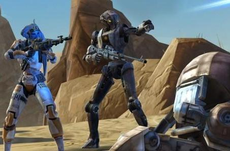 SWTOR uploads new companion HK-51's backstory