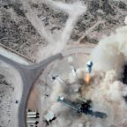 Jeff Bezos' Blue Origin launches and lands rocket New Shepard