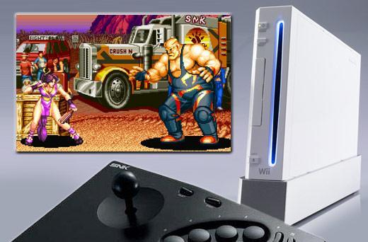 Neo Geo Stick 2 for the Wii, it's here, and it's awesome