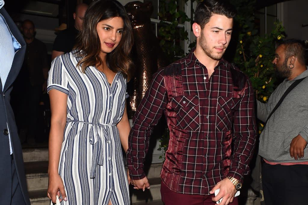 Priyanka Chopra & Nick Jonas Go on a Stylish Double Date With Joe Jonas & Sophie Turner