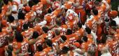 Clemson football team. (AP)