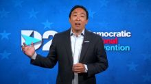 Andrew Yang gets his moment in the Democratic spotlight