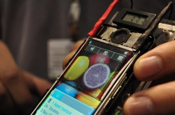 Wysips wants to turn your phone's display into a solar cell (hands-on with video)