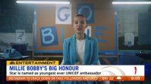 Millie Bobby Brown announced as youngest ever UNICEF ambassador
