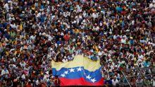Mass protest against Venezuela's Maduro