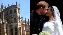 哈利王子梅根世紀婚禮 溫莎堡獲全球關注