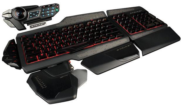 Mad Catz announces the S.T.R.I.K.E. 5 keyboard for pro gamers, pre-order now for $200
