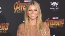 Gwyneth Paltrow Flashes Engagement Ring and a Lot of Leg at 'Avengers' Premiere