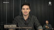 Após 'Roda Viva', famosos elogiam Felipe Neto