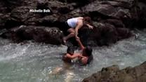 Water Rescues Caught on Tape