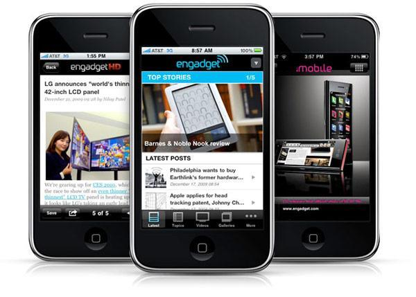 Engadget for iPhone / iPod touch: available now!