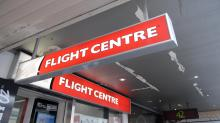 Flight Centre shares fall on guidance