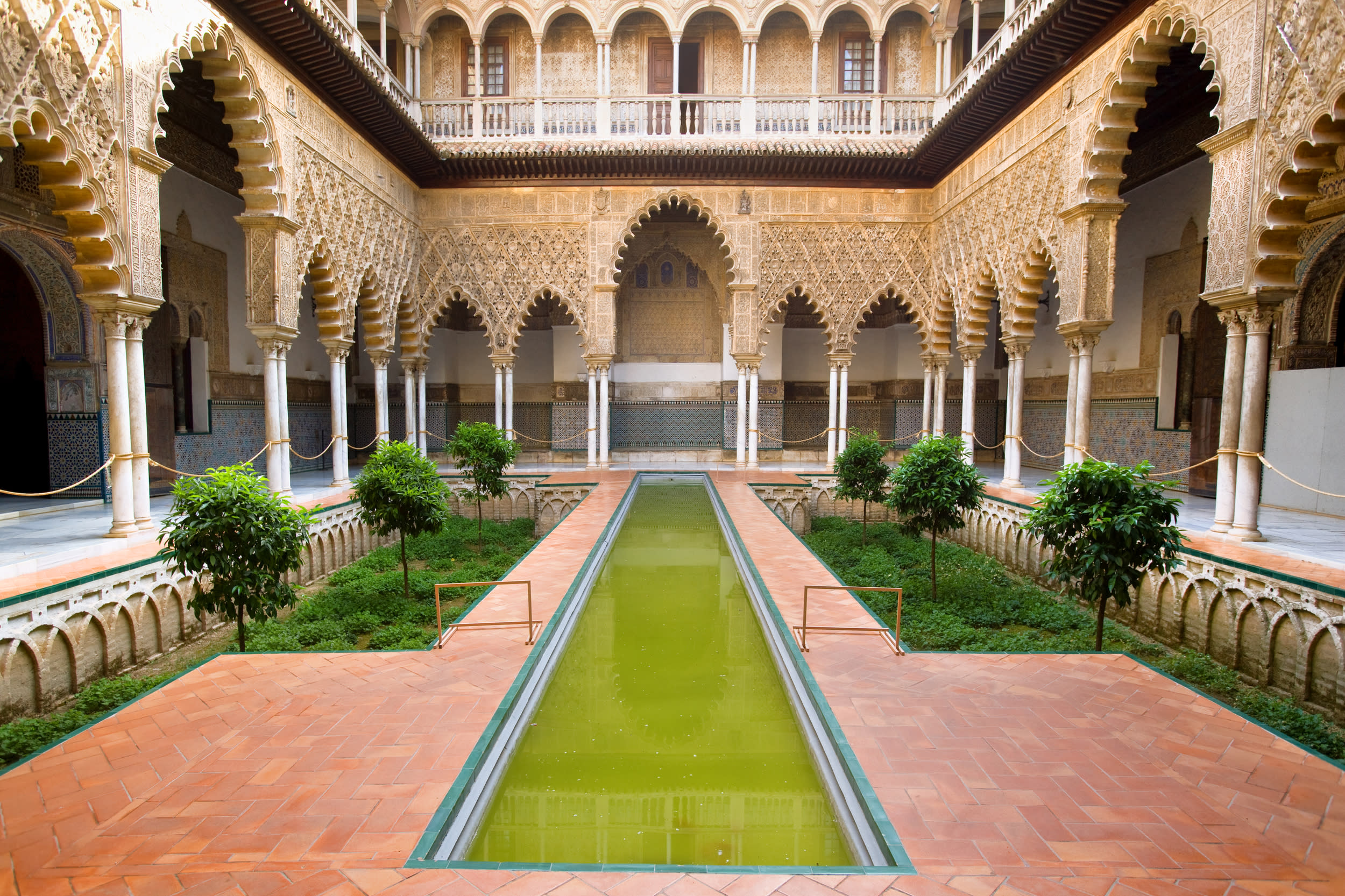 """<p><strong>GOT location</strong>: Royal Palace Of Dorne</p>  <p><strong>Real life location</strong>: Real Alcázar Palace, Seville, Spain</p>  <p>Feel like you're at the southern most point of Westeros by visitingReal Alcázar Palace in Spain AKA Dorne.</p>  <p><a href=""""https://fave.co/2GsavbS""""><strong>Book your trip.</strong></a></p>"""