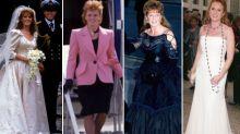 A look back on Sarah Ferguson's style evolution