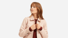 Everlane just released their first ever leather jacket—and it's perfect for fall