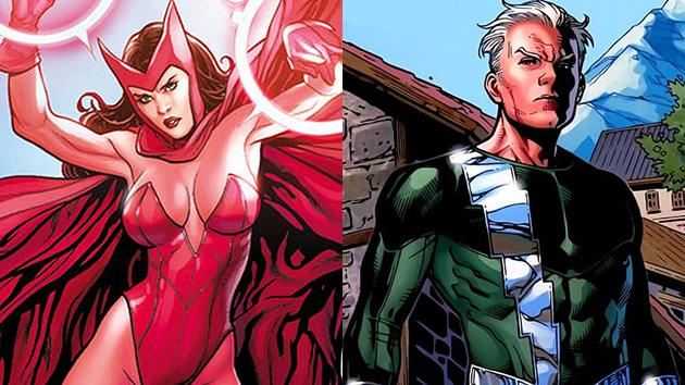 Mutant Twins Mania! Quicksilver and Scarlet Witch ...