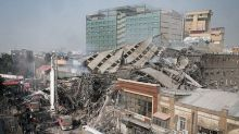 Iran rescuers find three bodies at collapsed building, hopes for survivors fade
