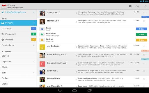 Gmail app for Android returns quick-access delete button following user feedback
