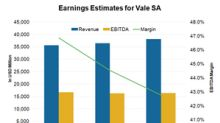 Why Analysts Expect Vale SA's Earnings to Rise