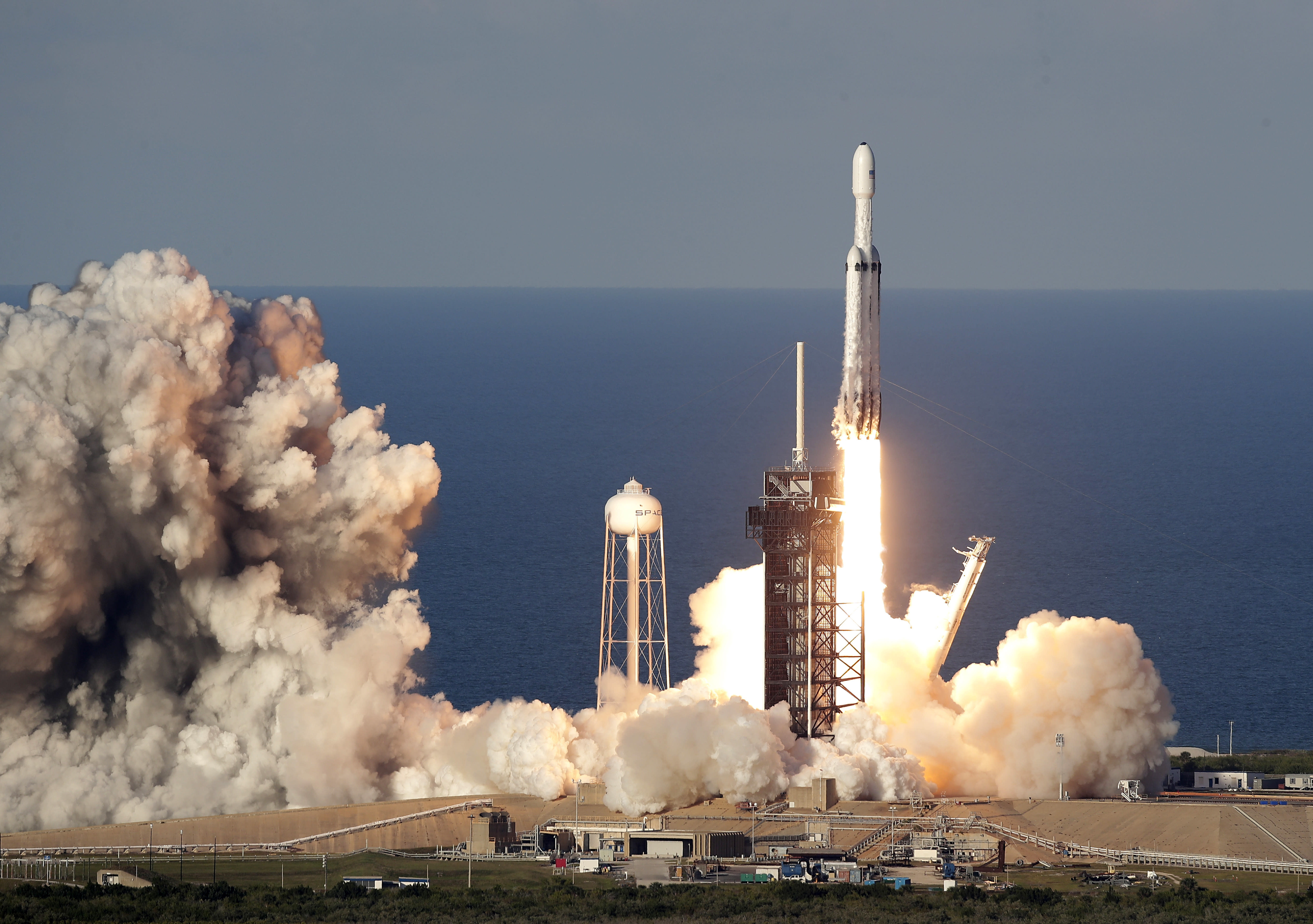 spacex launches rocket - HD3000×2111
