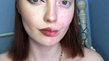 Girl Behind Empowering Half Make-up Selfies Is Branded Ugly By Internet Trolls