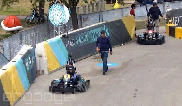 We kick off SXSW 2014 with some real-life Mario Karting (video)