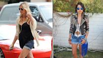 DIY Cuffed Denim Shorts in 4 Minutes!
