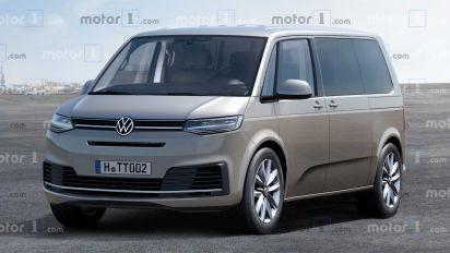 Volkswagen T7 2021, el nuevo Bulli no abandona la gasolina
