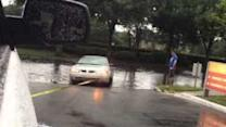 Tampa Flooding Strands Vehicles