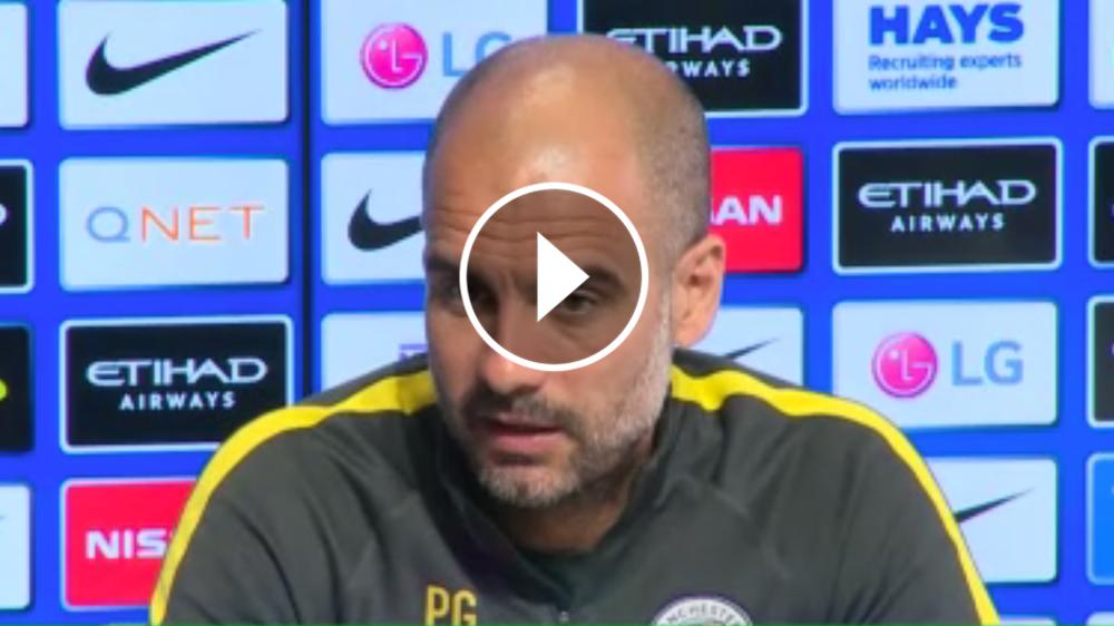 """VÍDEO: Guardiola: """"¿Favoritos? Lo mismo decíais la temporada pasada y el Chelsea nos mató"""""""