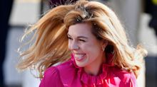 Carrie Symonds wears £85 & Other Stories dress at Conservative Party Conference