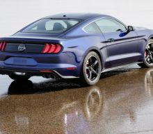 Ford to auction one-of-a-kind blue Mustang Bullitt for charity