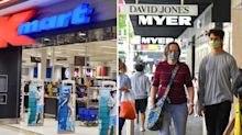 Kmart, Myer and Woolworths among new Covid exposure sites