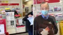 Coronavirus Victoria: Australia Post customer's anti-mask rant