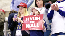 'I pray the Republicans have a huge wave in November': Trump supporters rally in Minnesota