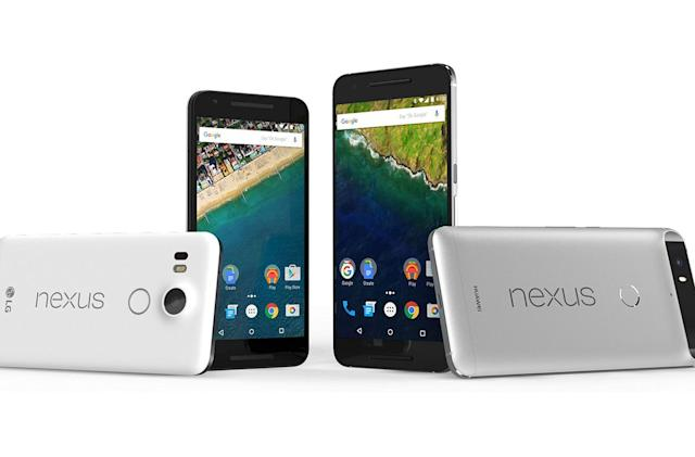 Google drops Nexus 5X and 6P prices by $50 for the holidays