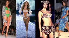 Victoria's Secret models: then and now