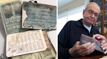 'I was blown away': Twist after man loses wallet more than 50 years ago