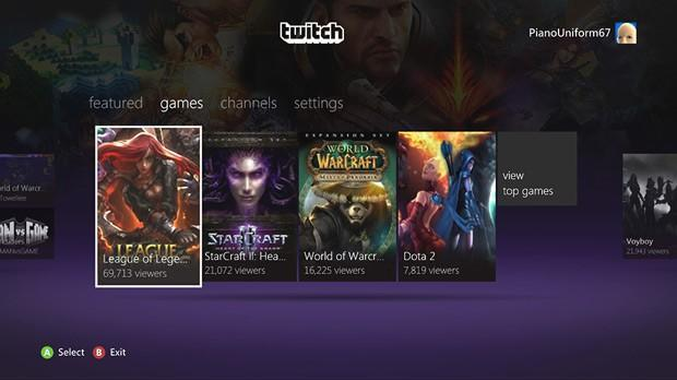 Twitch video platform for gamers comes to Xbox 360, watch and play from the same place (video)
